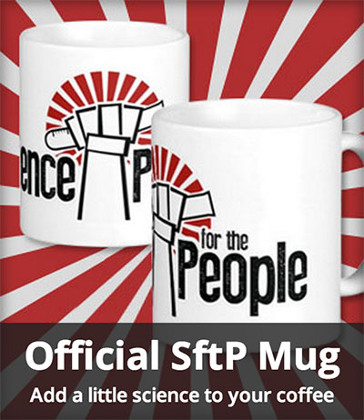 Official Science for the People mug
